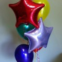 Foil and Latex Balloon Bunch