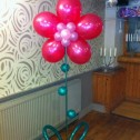 Balloon Flower on Stand