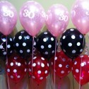 3 latex balloon arrangementd