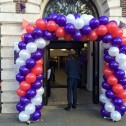 Natwest Bank Shrewsbury Re-launch Spiral Arch