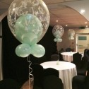 Double Bubble Table Centrepieces