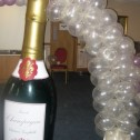 6 Foot Champagne Bottle