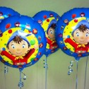 Noddy Foil Balloons on Weights