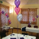 3 Balloon Table Centrepiece