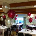 3 Balloon Latex Centrepieces