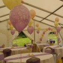 Butterfly Balloon Centrepieces