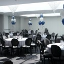 5 Latex Centrepieces with Printed Top Balloon